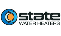 state heater heaters logo